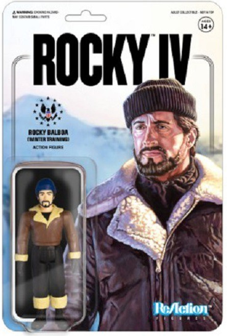 ReAction Rocky IV Rocky Balboa Action Figure [Winter Training]
