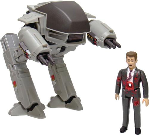 ReAction Robocop ED-209 & Dead Businessman Action Figure 2-Pack