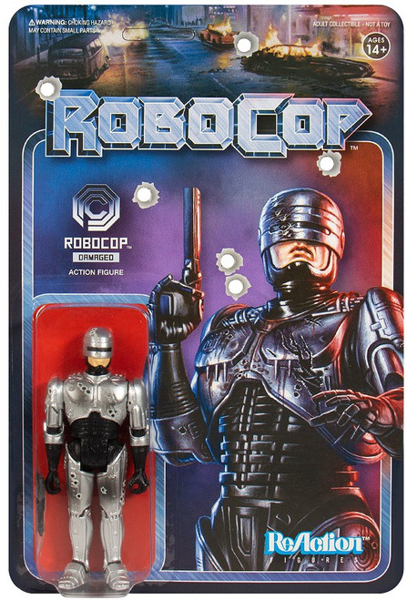 ReAction Robocop Robocop Action Figure 2-Pack [Battle Damaged]