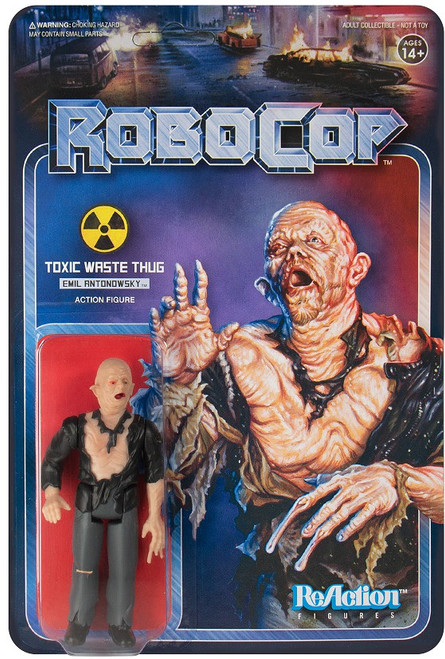 ReAction Robocop Emil Antonowsky Action Figure [Toxic Waste Thug]
