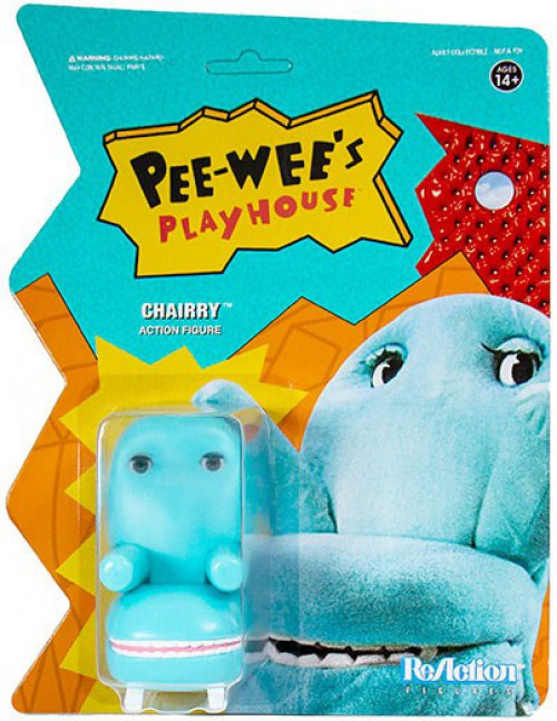 ReAction Pee Wees Playhouse Chairry Action Figure