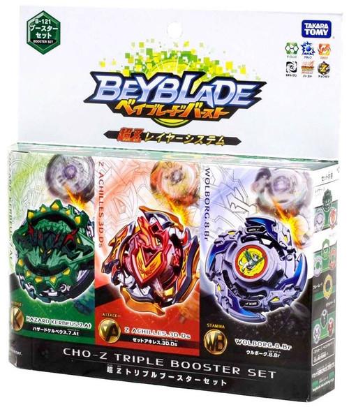 Beyblade Burst Japanese Burst Super CHO-Z Triple Booster Set B-121