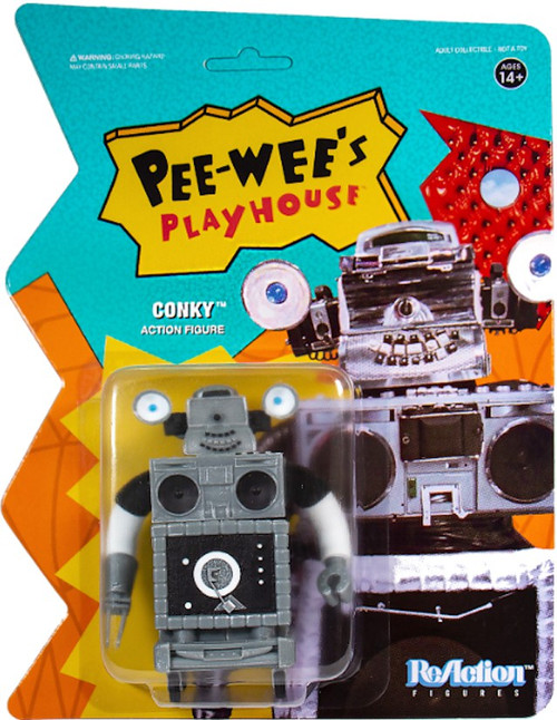ReAction Pee Wees Playhouse Conky Action Figure