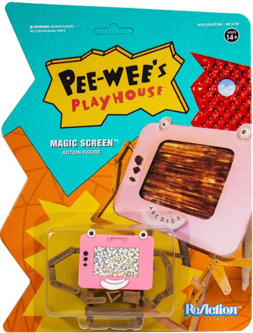 ReAction Pee Wees Playhouse Magic Screen Action Figure