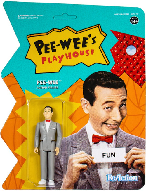ReAction Pee Wees Playhouse Pee-wee Action Figure