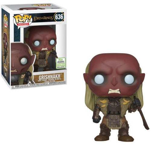 Funko Lord of the Rings POP! Movies Grishnakh Exclusive Vinyl Figure #636