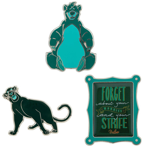 Disney Wisdom The Jungle Book Exclusive Pin Set