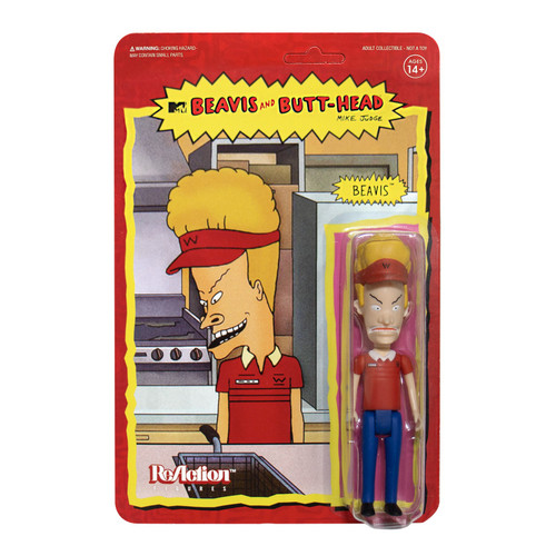 ReAction Beavis & Butthead Beavis Action Figure [Burger World]