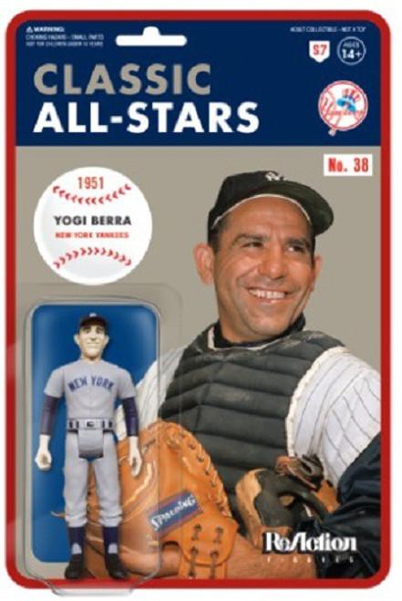 ReAction MLB Classic All-Stars New York Yankees Yogi Berra Action Figure