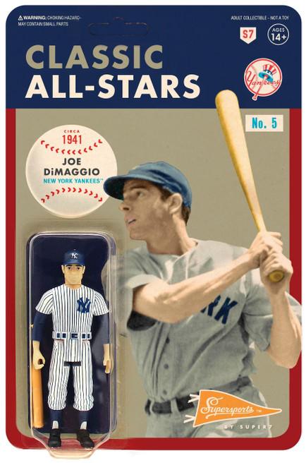 ReAction MLB Classic All-Stars New York Yankees Joe DiMaggio Action Figure