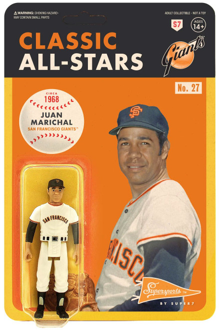 ReAction MLB Classic All-Stars San Francisco Giants Juan Marichal Action Figure