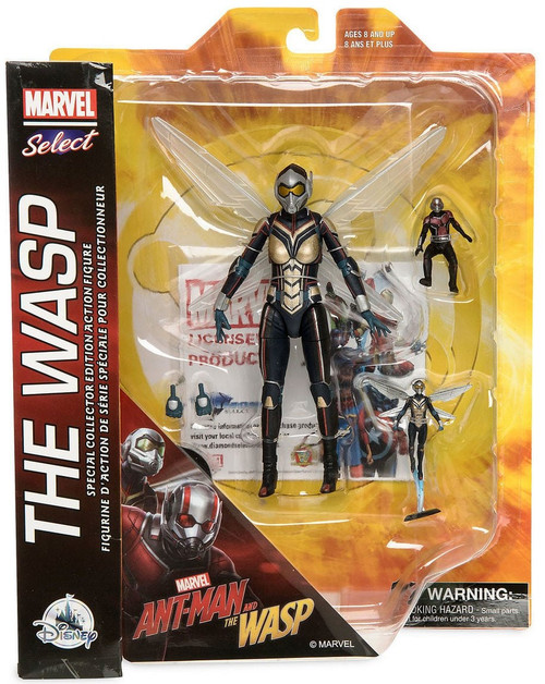 Ant-Man and the Wasp Marvel Select The Wasp Exclusive Action Figure