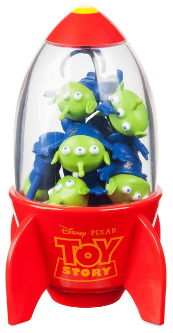 Disney Toy Story Space Alien Claw Exclusive Eraser Set