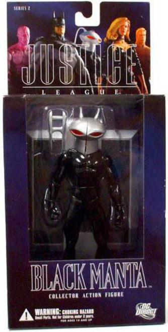 DC Alex Ross Justice League Series 2 Black Manta Action Figure