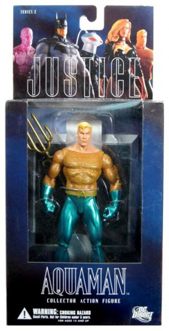 DC Alex Ross Justice League Series 2 Aquaman Action Figure