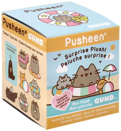 Pusheen Series 10 Lazy Summer Mystery Pack [1 RANDOM Mini Plush Figure]