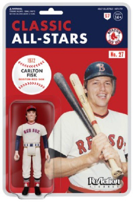 ReAction MLB Classic All-Stars Boston Red Sox Carlton Fisk Action Figure