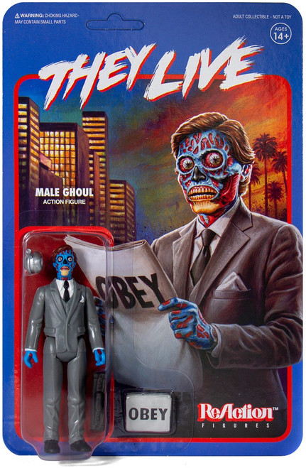 ReAction They Live Male Ghoul Action Figure