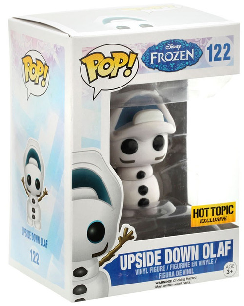 Funko Disney Frozen POP! Movies Upside Down Olaf Exclusive Vinyl Figure #122 [Upside Down Head, Damaged Package]