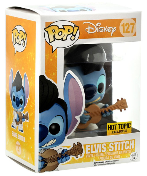 Funko Disney Lilo & Stitch POP! Movies Elvis Stitch Exclusive Vinyl Figure #127 [Damaged Package]