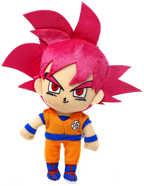 Dragon Ball Super Super Saiyan God Goku 10-Inch Plush