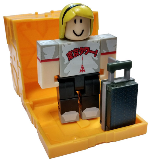 Roblox Series 5 World Expedition: Tokyo Tourist 3-Inch Mini Figure [with Gold Cube and Online Code Loose]