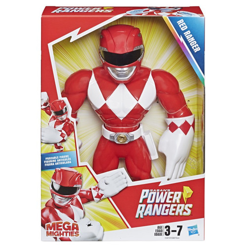 Power Rangers Playskool Heroes Mega Mighties Red Ranger 10-Inch Figure
