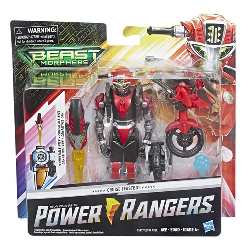 Power Rangers Beast Morphers Cruise Red Beastbot 6-Inch Deluxe Figure