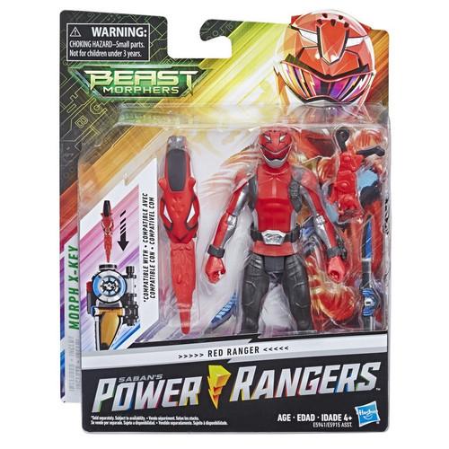 Power Rangers Beast Morphers Red Ranger Basic Action Figure