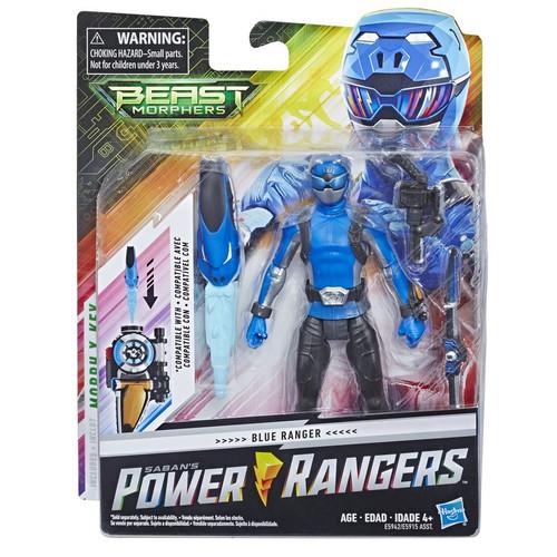 Power Rangers Beast Morphers Blue Ranger Basic Action Figure