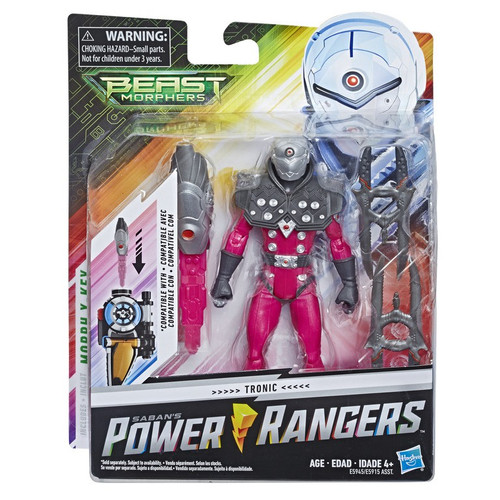Power Rangers Beast Morphers Tronic Action Figure