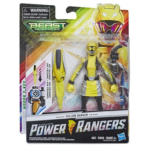 Power Rangers Beast Morphers Yellow Ranger Action Figure