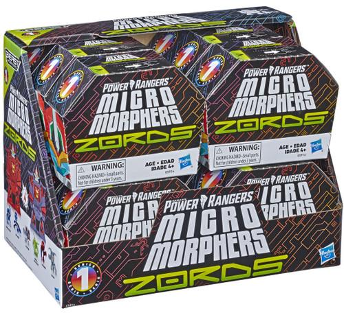 Power Rangers Beast Morphers Micro Morphers ZORDS Mystery Box [12 Packs]