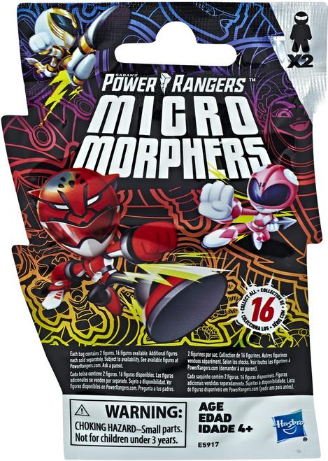 Power Rangers Beast Morphers Micro Morphers Series 1 Figure 2-Pack Mystery Pack