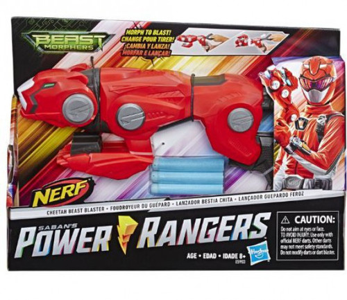 Power Rangers Beast Morphers Cheetah Beast Blaster Roleplay Toy