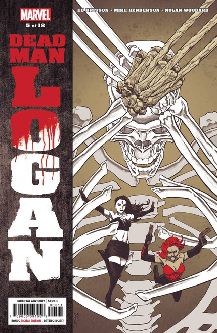 Marvel Comics Dead Man Logan #5 of 12 Comic Book