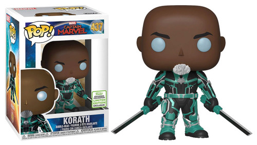 Funko Captain Marvel POP! Marvel Korath Exclusive Vinyl Figure #437