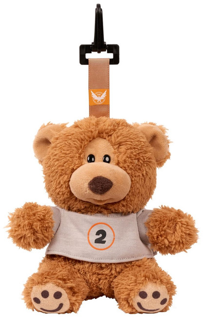 The Division 2 Tommy the Teddy Bear 6.5-Inch Plush Hanger