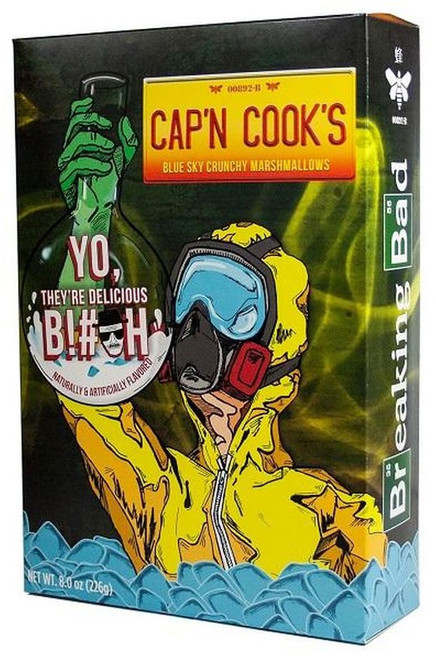 FunkO's Breaking Bad Cap'n Cooks Exclusive 7 Oz. Breakfast Cereal