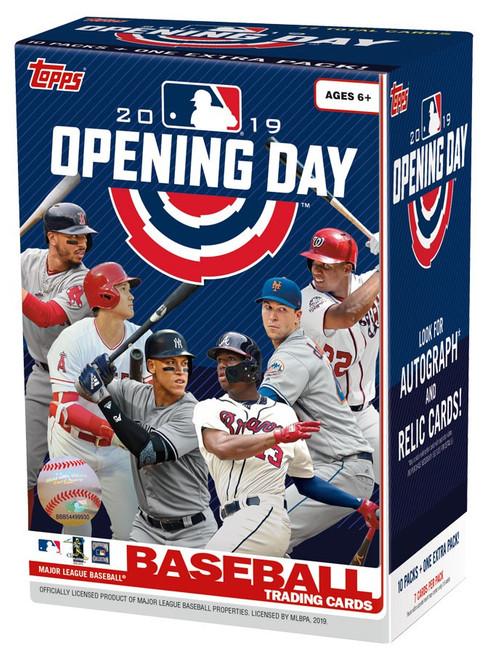 MLB Topps 2019 Opening Day Baseball Trading Card BLASTER Box [11 Packs]