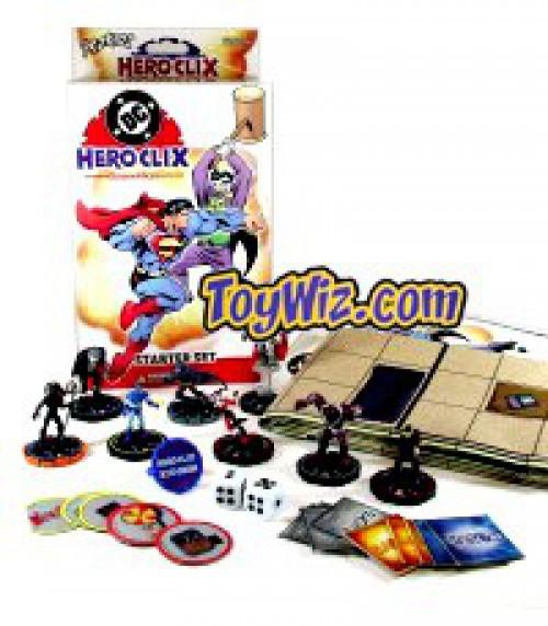 DC HeroClix Hypertime Starter Set