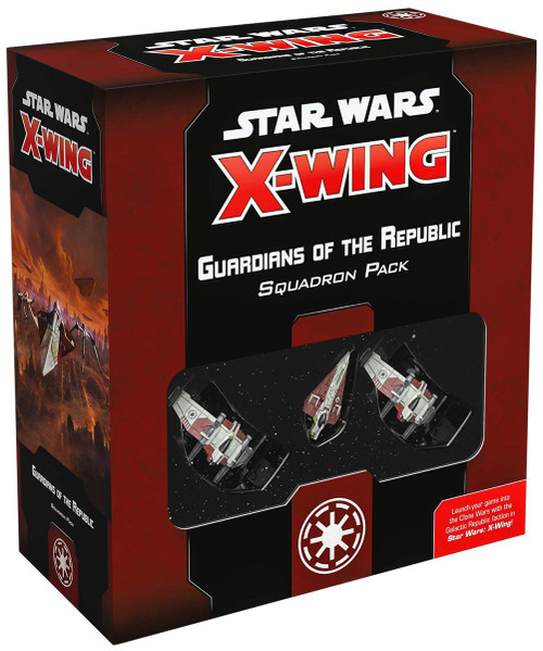 Star Wars X-Wing Miniatures Game Guardians of the Republic Squadron Pack [2nd Edition]
