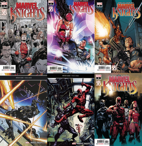 Marvel Comics Marvel Knights Issues 1-6 Lot of Comic Books
