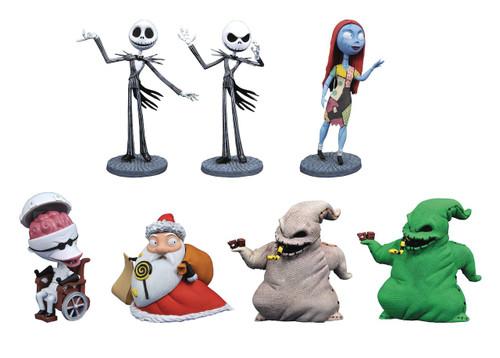 Nightmare Before Christmas D-Formz Series 1 Mini Figure Mystery Box [12 Packs]