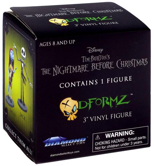 Nightmare Before Christmas D-Formz Series 1 Mini Figure Mystery Pack [1 RANDOM Figure]
