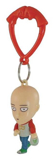 One Punch Man Backpack Hangers Saitama 1/24 Keychain [Regular Clothes Loose]