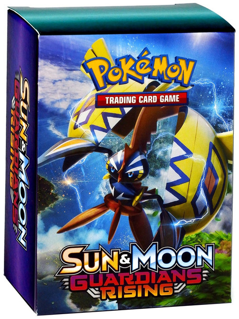 Pokemon Trading Card Game Sun & Moon Guardians Rising Deck Box 3-Pack