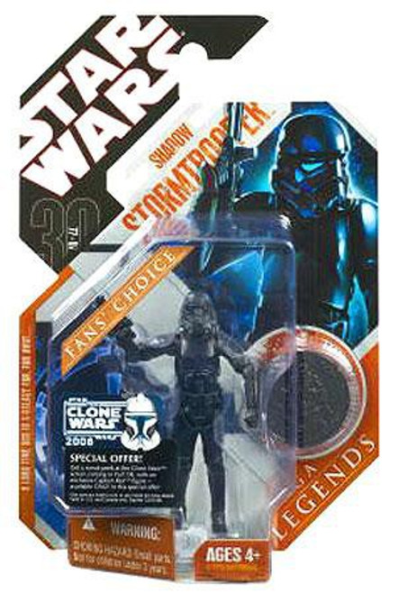 Star Wars Expanded Universe 2007 Saga Legends (30th Anniversary) Shadow Stormtrooper Action Figure #32