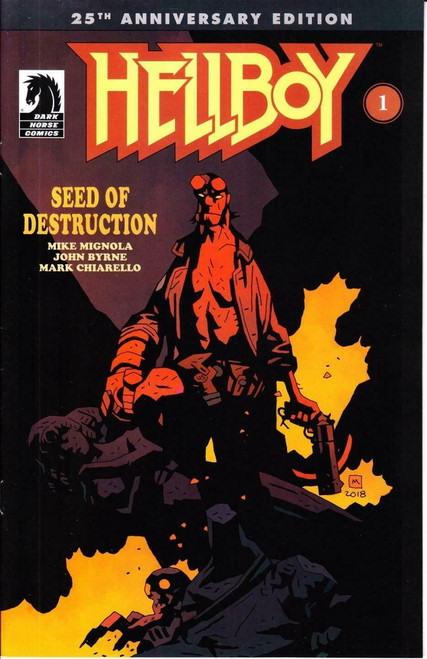 Dark Horse Hellboy #1 Seed of Destruction Comic Book [Hellboy Day 2019]
