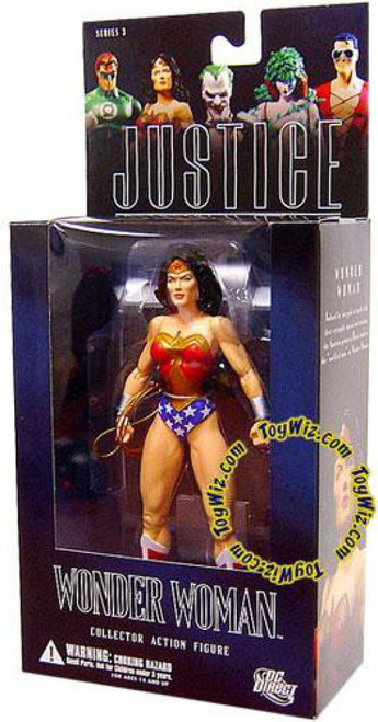 DC Alex Ross Justice League Series 3 Wonder Woman Action Figure